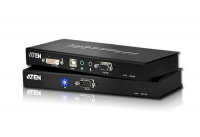 Удлинитель KVM CE602 DVI, USB, RS232, AUDIO (60м), Aten