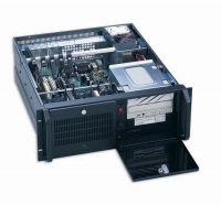 Серверный корпус 4U AKIWA GHI-419ATXR 500Вт (ATX 12x13, 2x5.25ext, 1x3.5ext, 5x3.5int, 510mm) черный