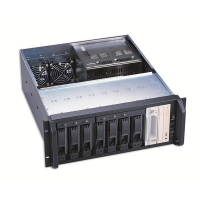 Корпус STORAGE 4U AKIWA GHR-422 400W (9x5.25ext, 501mm) черный