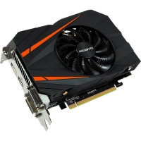 Видеокарта nVidia GeForce GTX1060 Gigabyte Mini ITX OC PCI-E 6144Mb (GV-N1060IXOC-6GD)