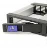 "Корзина ST-101 1x5,25"" с функцией ""горячей замены"" для 1х3.5"" SAS/SATA HDD, металл, черная, SNT"