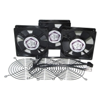 Система охлаждения CLM-882138-233 (3 вентилятора+3 решетки + кабель) для серверного шкафа