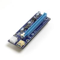Райзер PCI-E X1 M to PCI-E X16 F, версия 009s, Gold edition