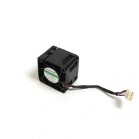 Вентилятор для корпуса 40x40x28мм, 4пин PWM, 0.15A, 1.8W, 8000RPM, NR-FAN4028ES, Dual ball, Negorack