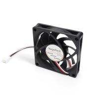 Вентилятор для корпуса 70x70x15мм, 3пин, 0.19A, 2600RPM, подшипник качения, NR-FAN7015, Negorack