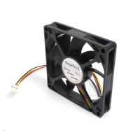 Вентилятор для корпуса 80x80x15мм, 3пин, 0.26A, 1200RPM, подшипник качения, NR-FAN8015, Negorack
