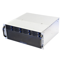 Серверный корпус 4U NR-R408 2*600 8xHot Swap SAS/SATA (EATX 12x13), 380mm, черный, Negorack